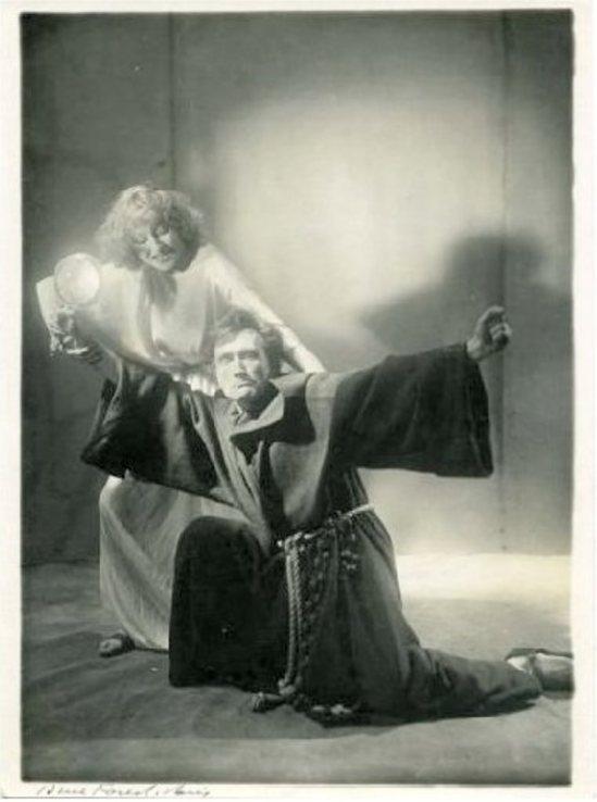 Antonin Artaud et Cécile Brusson