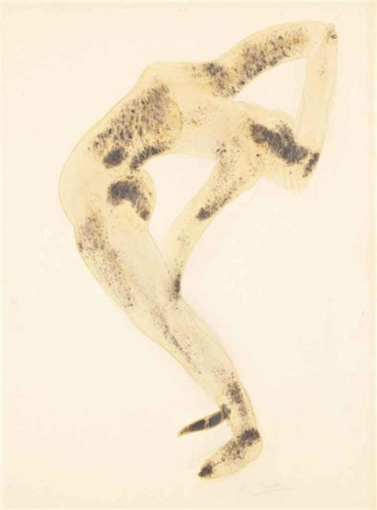 Auguste Rodin. Danseuse acrobate 1910