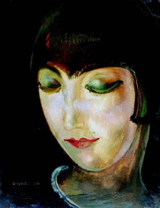 Gustaw Gwozdecki, Kiki de Montparnasse, 1920
