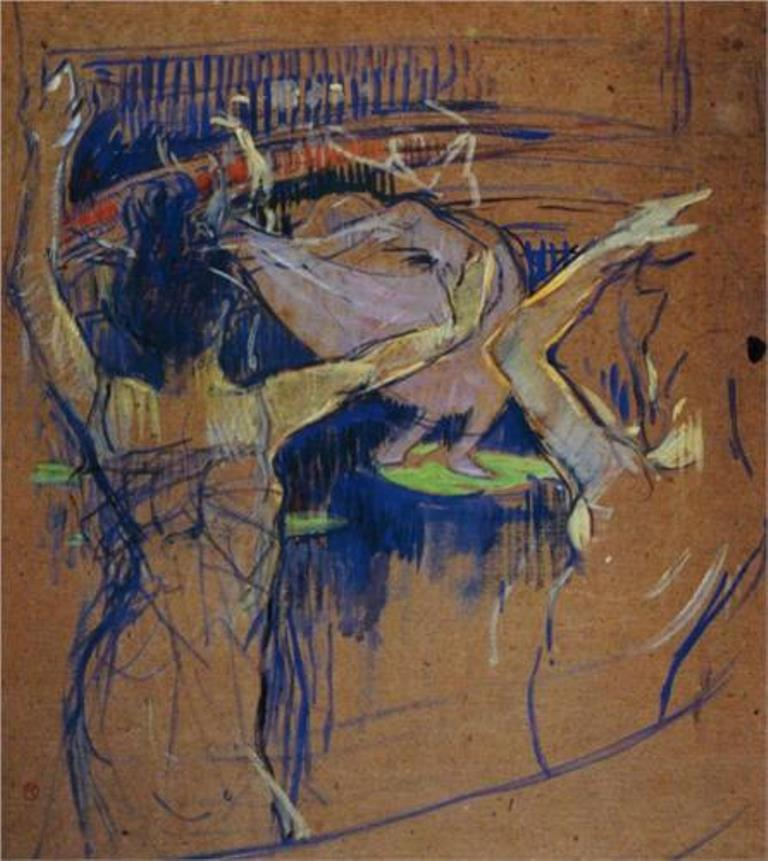 Henri de Toulouse-Lautrec. Ballet de Papa Chrysanth me 1892