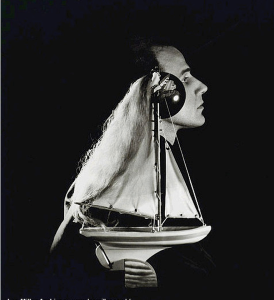 Lee Miller, Joseph Cornell, New York, 1933. Via theredlist