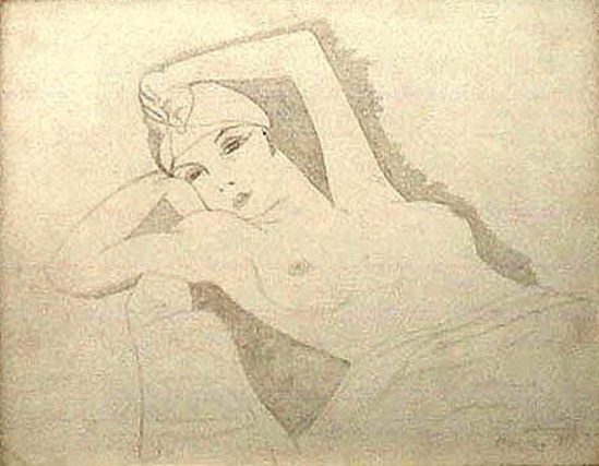Man Ray. Illustration 1924