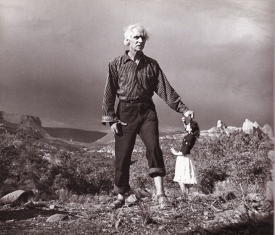 Max Ernst and Dorothea Tanning, photographed by Lee Miller, Sedona, Arizona, 1946