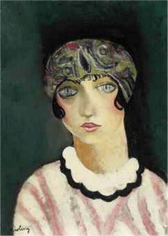 MOÏSE KISLING, Kiki de Montparnasse (1924)