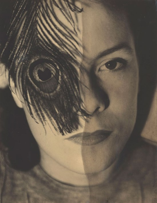 György Kepes. Juliet with Peacock Feather, 1937-1938