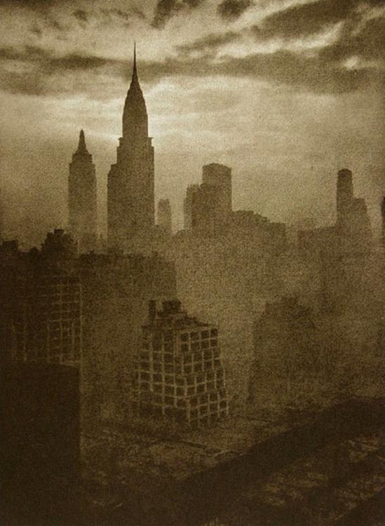 Adolf Fassbender. At dusk 1937 Via photogravure