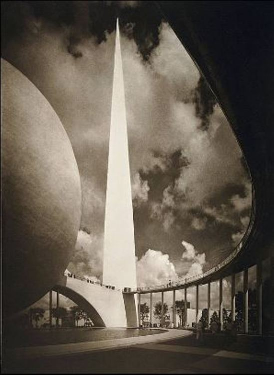 Adolf Fassbender. Dynamic symbol New-York world's fair 1939 Via allegheny