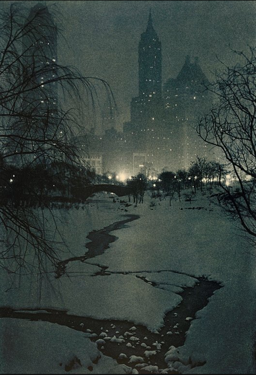 Adolf Fassbender. The White Night 1936 Via liveauctioneers