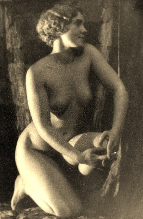 Alexander Grinberg. Nu 1910-1915. Via russianphotographs.net