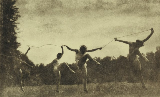 Alexander Grinberg. Study of movement 1928. Via russianpictorialism