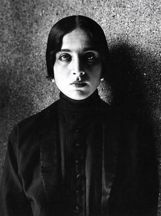 Alexander Grinberg5. Portrait 1920. Via russianphotographs.net