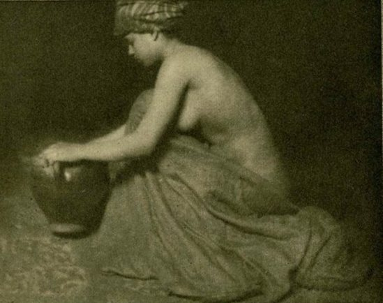 Alvin Langdon Coburn. The Water Carrier 1909 Via liveauctioneers