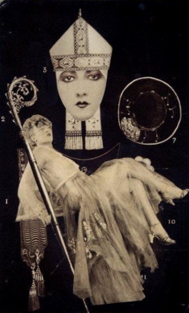 André Breton. L'oeuf de l'eglise ou le serpent 1932. Via midnightmartini