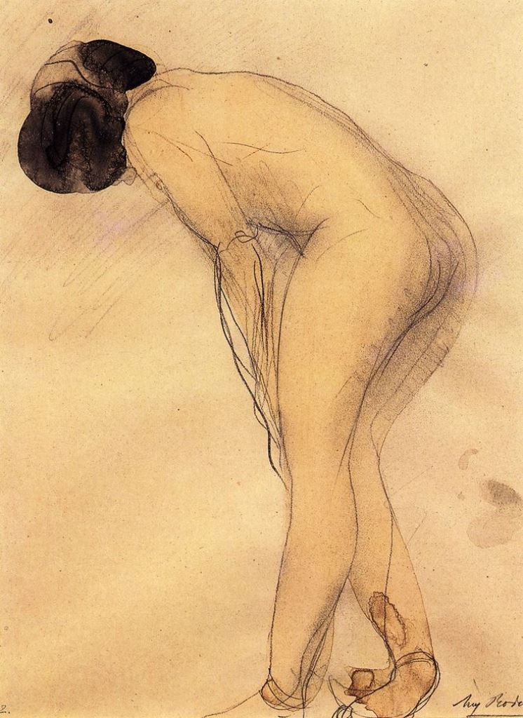 Auguste Rodin entre 1900-1908
