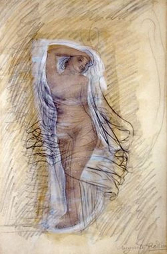 Auguste Rodin. Nu debout aux voiles blancs 1900