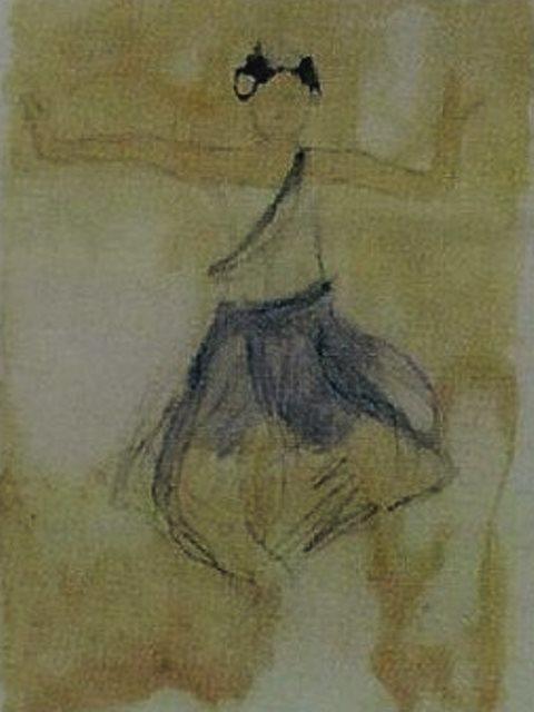 Auguste Rodin. Cambodian dancer 1906