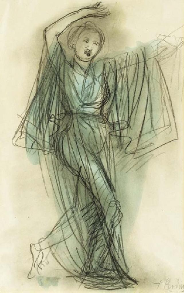 Auguste Rodin. Danseuse