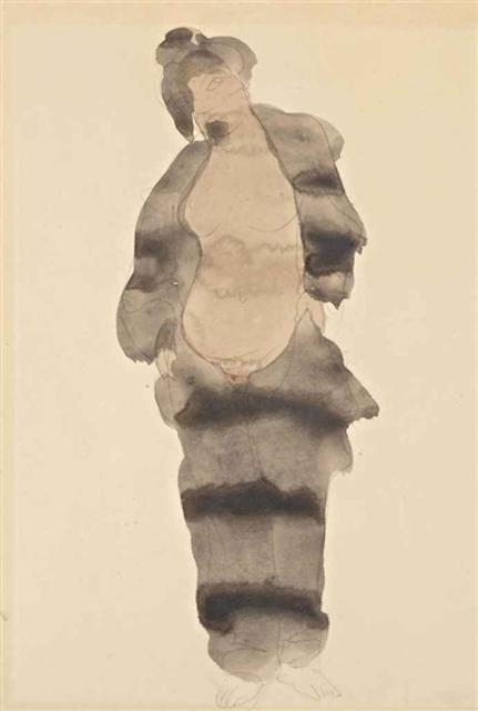 Auguste Rodin. Femme-pyjama 1898