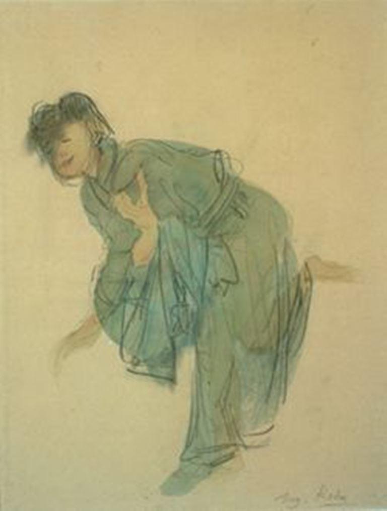 Auguste Rodin.  Hanako saluant 1907