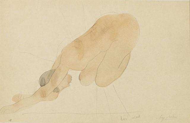Auguste Rodin. Sun series 1911