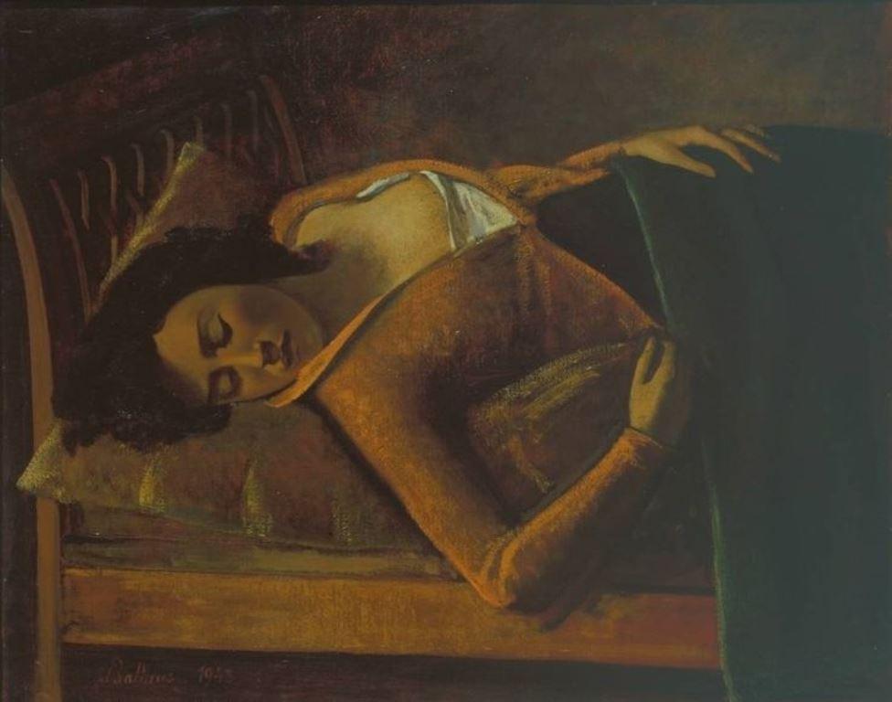 Balthus. Sleeping girl 1943