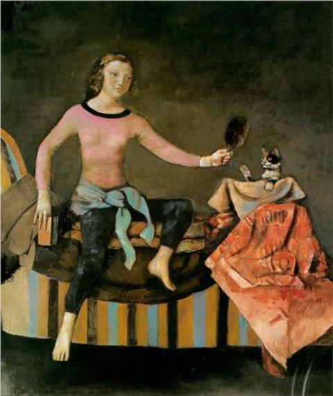Balthus. Le chat au miroir 1986-1989
