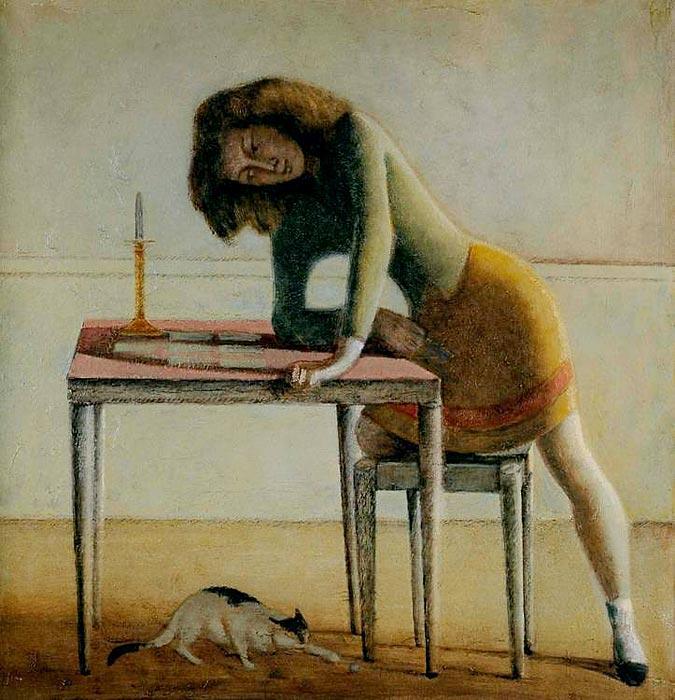 Balthus. Solitaire 1943