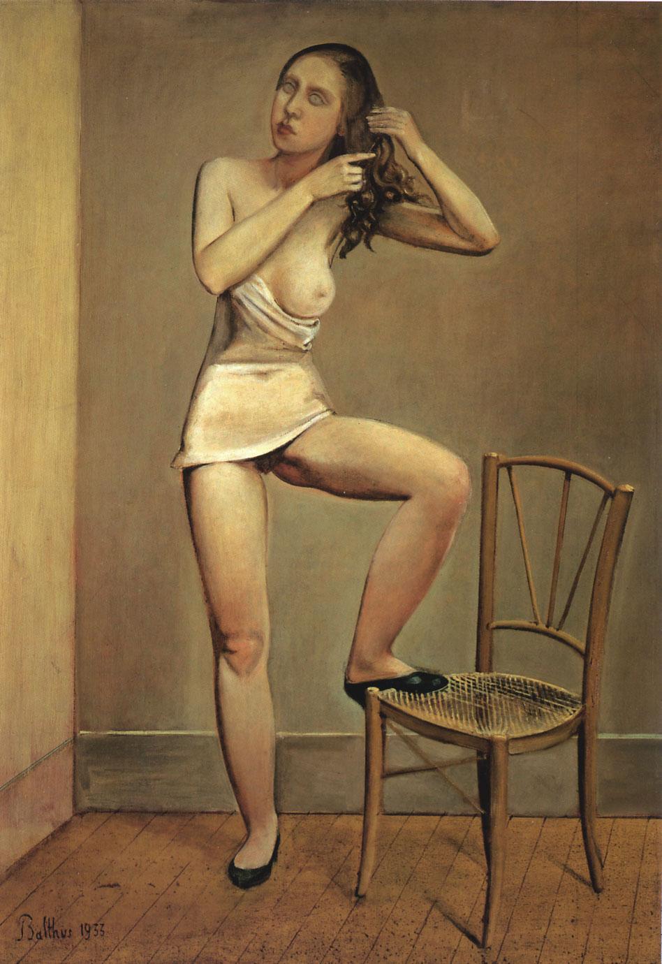 Balthus. Alice dans le miroir 1933