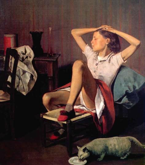 Balthus. Thérèse rêvant 1938