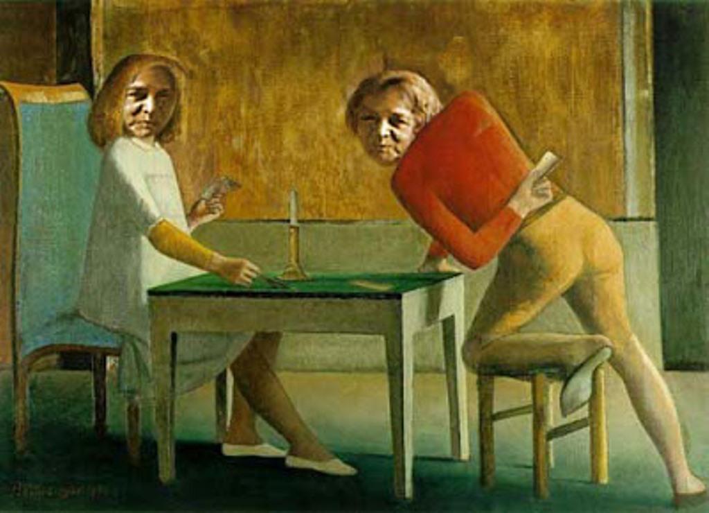 Balthus. La partie de cartes 1948-1950