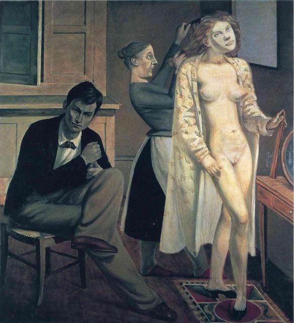Balthus. La toilette de Cathy 1933