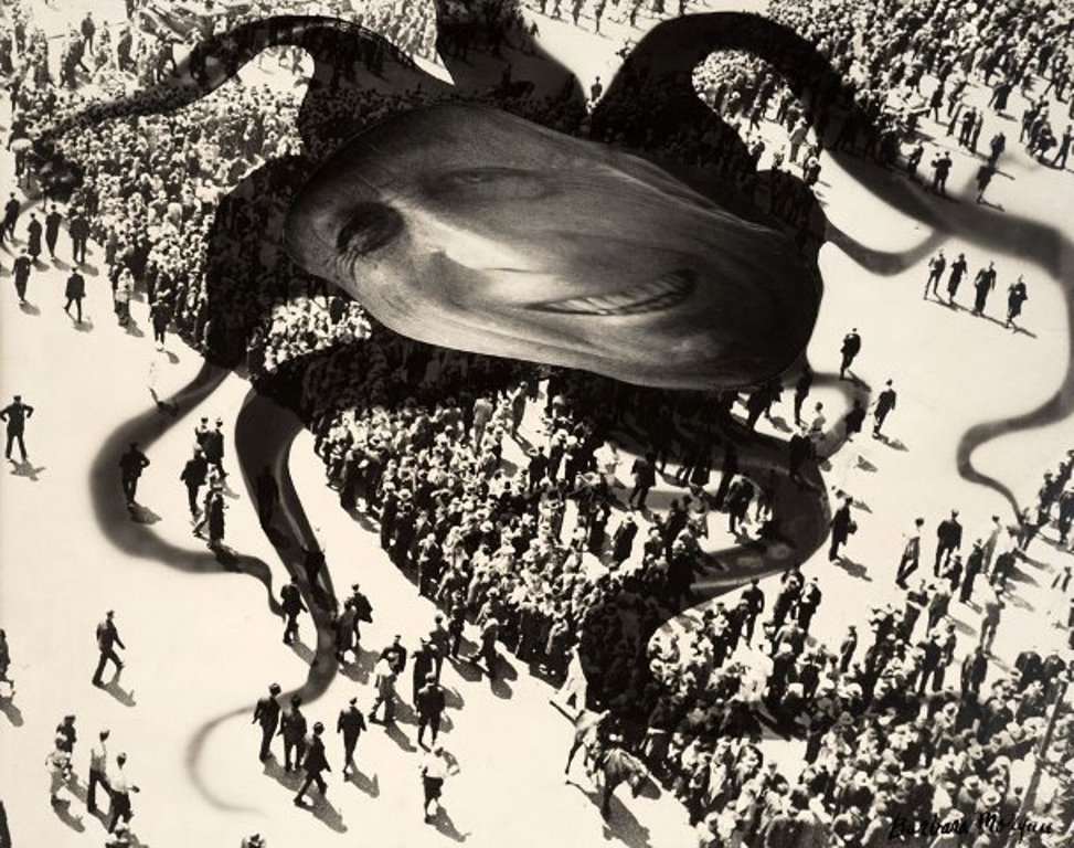 Barbara Morgan. Hearst over the people 1939 Via artblart