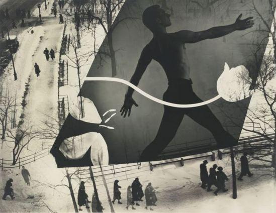 Barbara Morgan. Spring in Madison Square Via sothebys