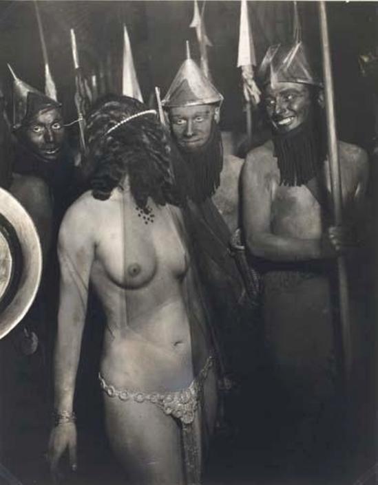 Brassaï. Le Bal des Quartre Arts, Paris 1932 Via mutualart