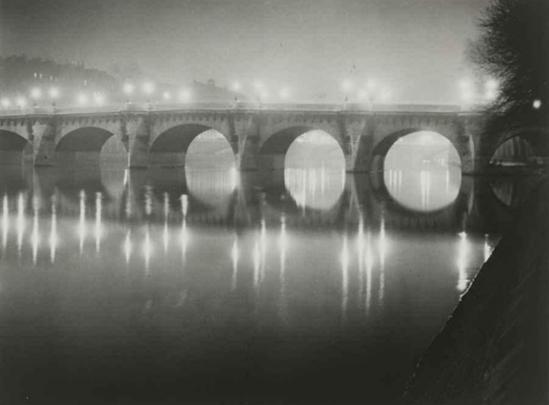 Brassaï. Pont de la Seine 1930 Via mutualart
