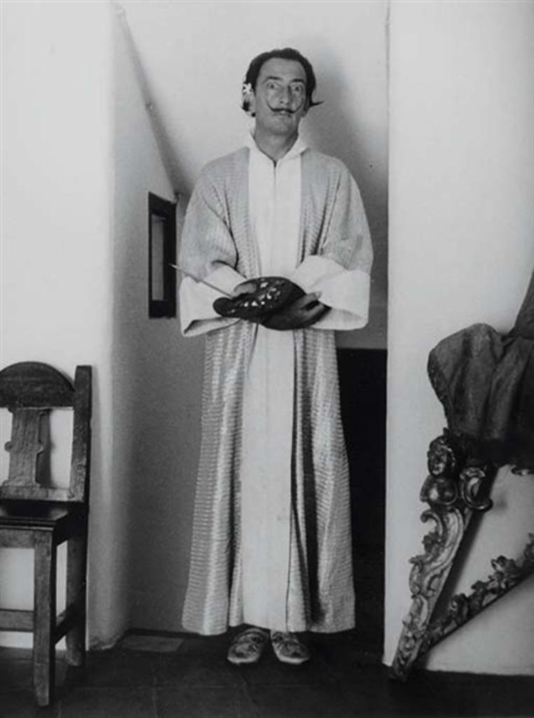 Brassaï. Salvador Dali 1955 Via mutualart
