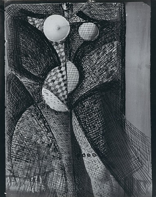 Brassaï. Transmutation, femme fruit 1934 Via artnet