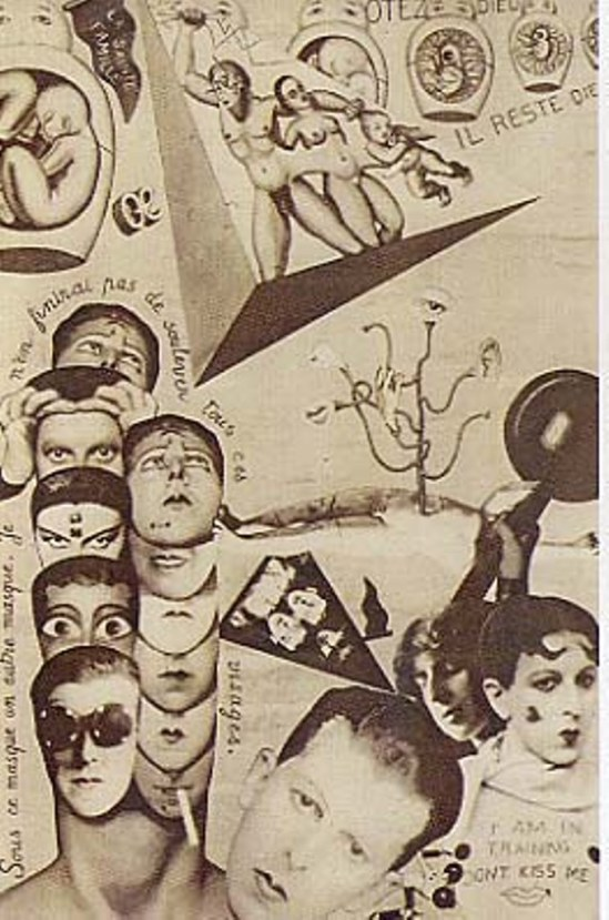 Claude Cahun et Marcel Moore. Illustration in Aveux non avenus 1929-1930 Via artnet