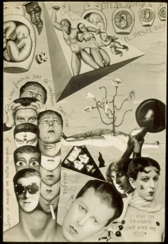 Claude Cahun. Self-pride 1929-1930. Via lacma