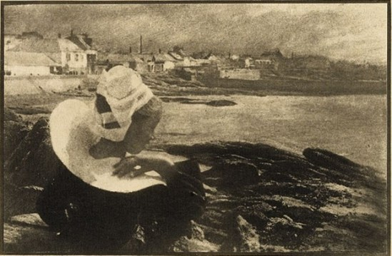 Demachy, Robert. In Brittany 1904. Via photogravure