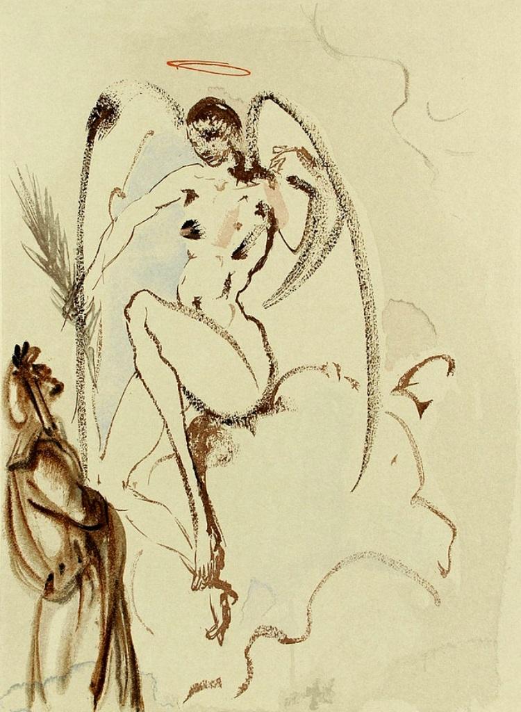Salvador Dali. La divine comédie. Le paradis