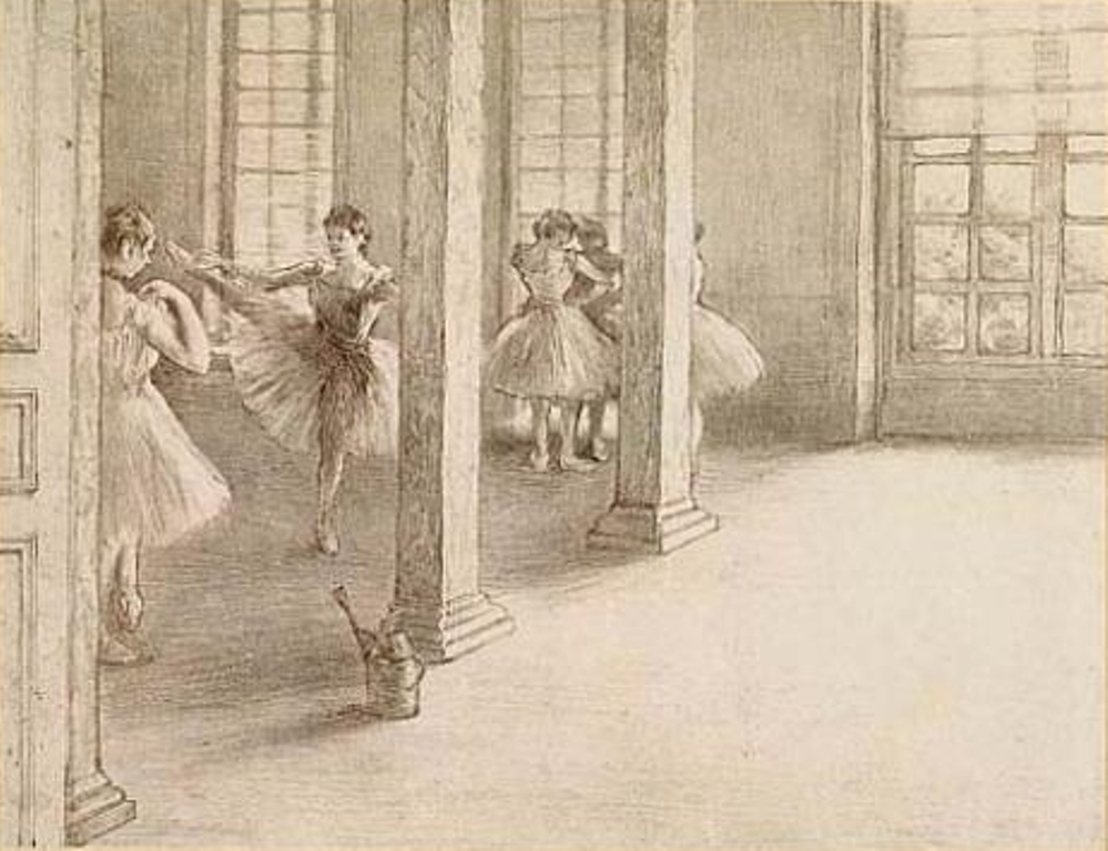 Edgar Degas. Danseuses 1888
