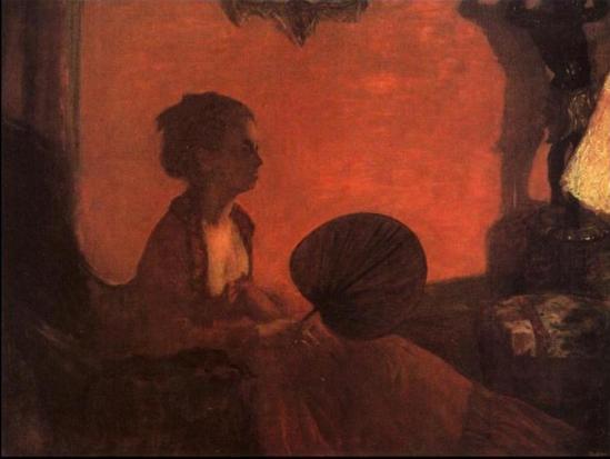Edgar Degas. Madame Camus 1870