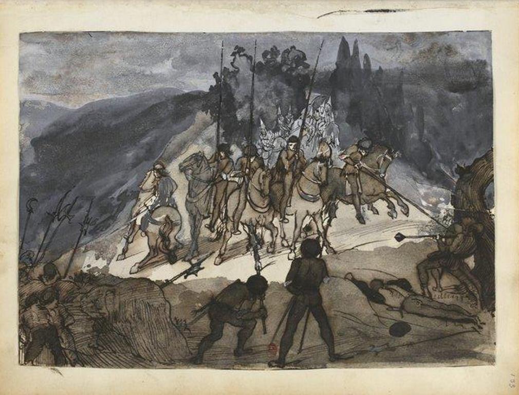 Edgard Degas. Carnet de dessin