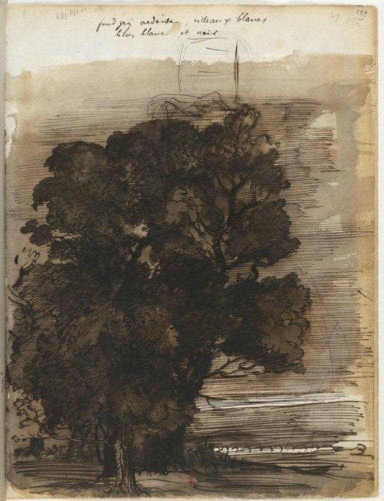 Edgard Degas4. Carnet de dessin
