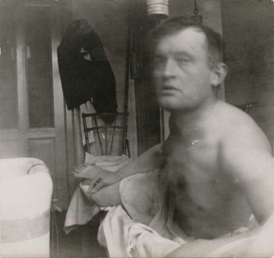 Edvard Munch. autoportrait 1908-1909