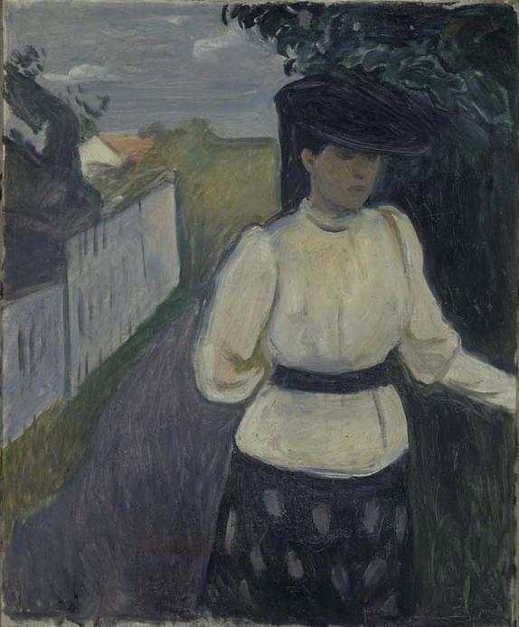 Edvard Munch. Inger Munch