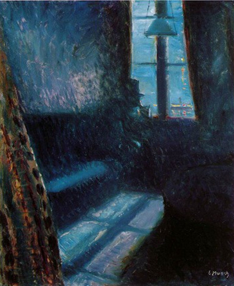 Edvard Munch. Night in St. Cloud 1890. Oil on canvas