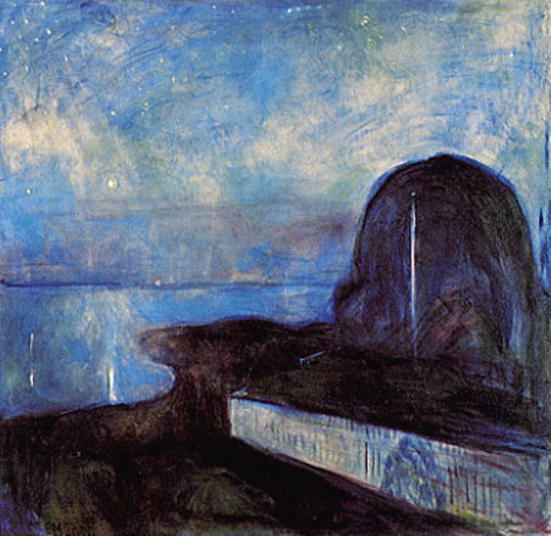 Edvard Munch. Starry night 1893