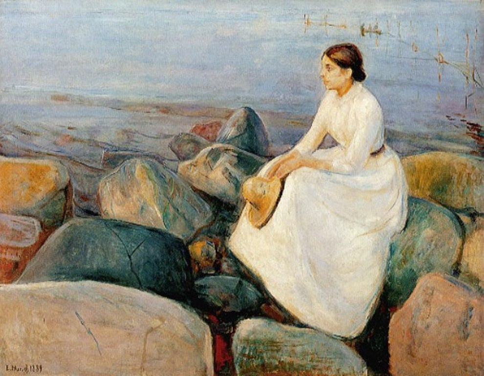 Edvard Munch. Summer night 1889